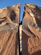 Rock Climbing Photo: Nice fullbody crack