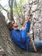 Rock Climbing Photo: Belay seat, Devil's Lake