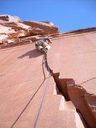 Rock Climbing Photo: Unnamed 5.10- Carpenter Ridge