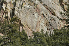 Rock Climbing Photo: Climbers on the Second pitch of Rincon
