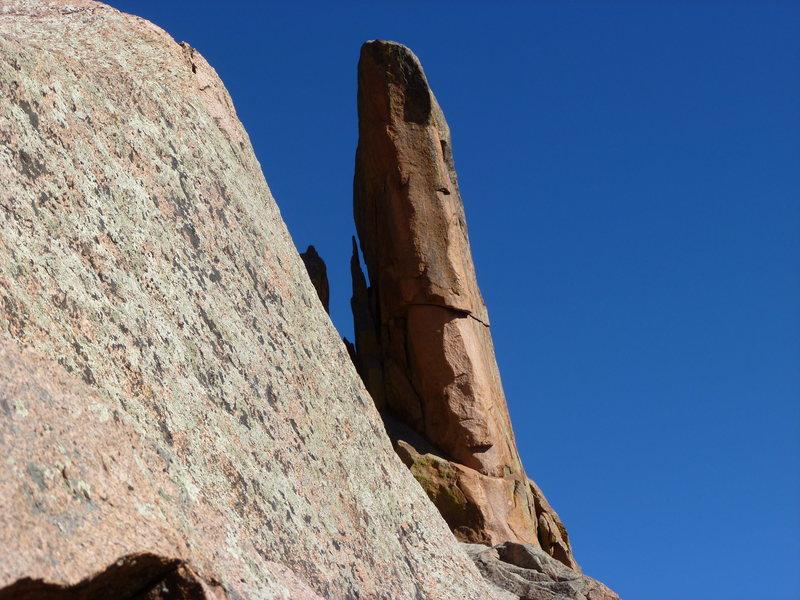 Rock Climbing Photo: Turkey Foot Tower.