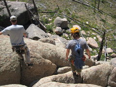 Rock Climbing Photo: Descent