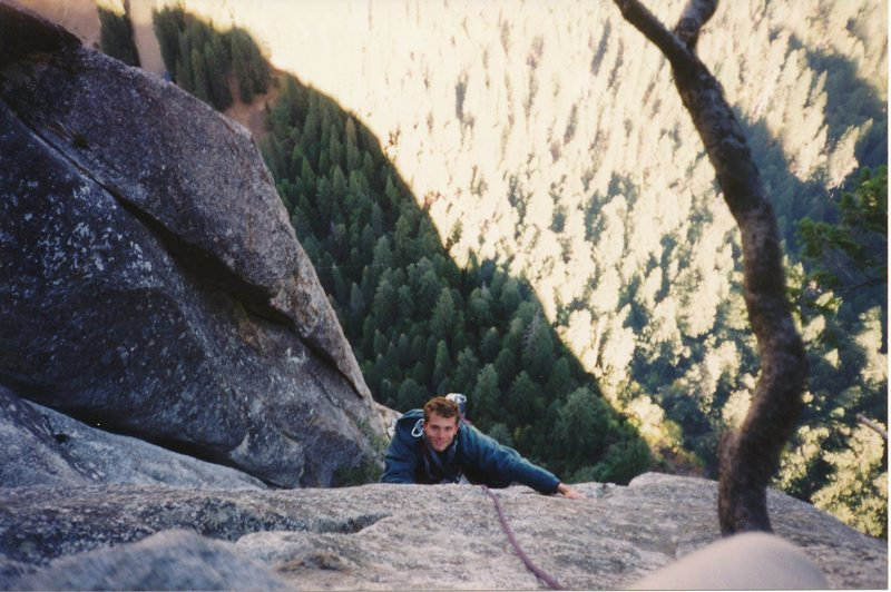 Gary Reno near the summit!