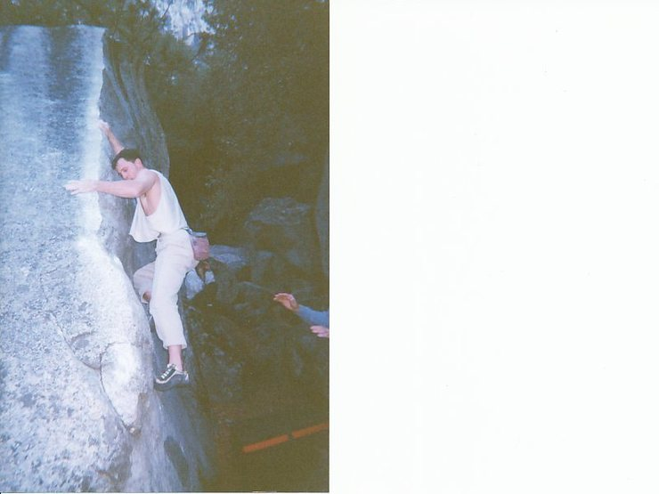 Rock Climbing Photo: Gary Reno, late nineties.