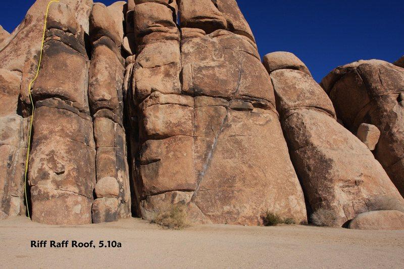 Rock Climbing Photo: Riff Raff Roof