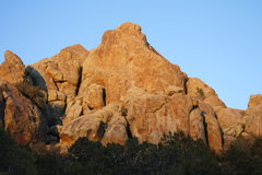 """Rock Climbing Photo: """"Wind and Weiners"""" climbs directly up th..."""