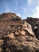 Rock Climbing Photo: the wall, january 2011.