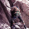 This thread brought back memories of a day of climbing the &quot;Wind Ridge&quot; this me on the first pitch. Photo: Bruce Sposi<br> http://rockerwaves.blogspot.com/2010/10/images-from-my-climbing-days.html