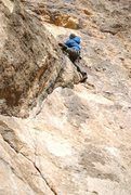 Rock Climbing Photo: Sinks Canyon, Lander WY
