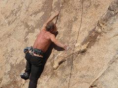 Rock Climbing Photo: Tucker Tech on the FA of Frank's Sandwich