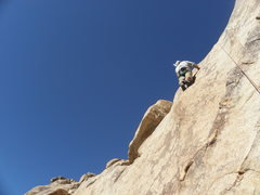 Rock Climbing Photo: Kelly Vaught on the FA of Frank's Sandwich