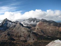 Rock Climbing Photo: View from zee top.