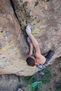 Rock Climbing Photo: Mid crux #2, June, 2007.  Photo by Craig Luebben.