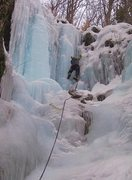 Rock Climbing Photo: Rumney ice