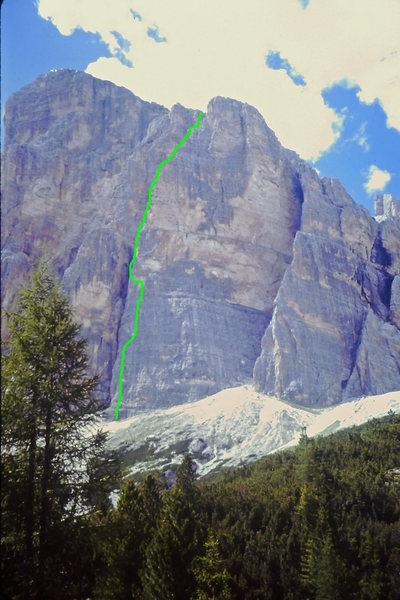 South Face Buttress 2 Pillar Rib Route
