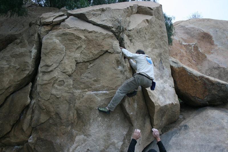 Rock Climbing Photo: Kenn Kenaga