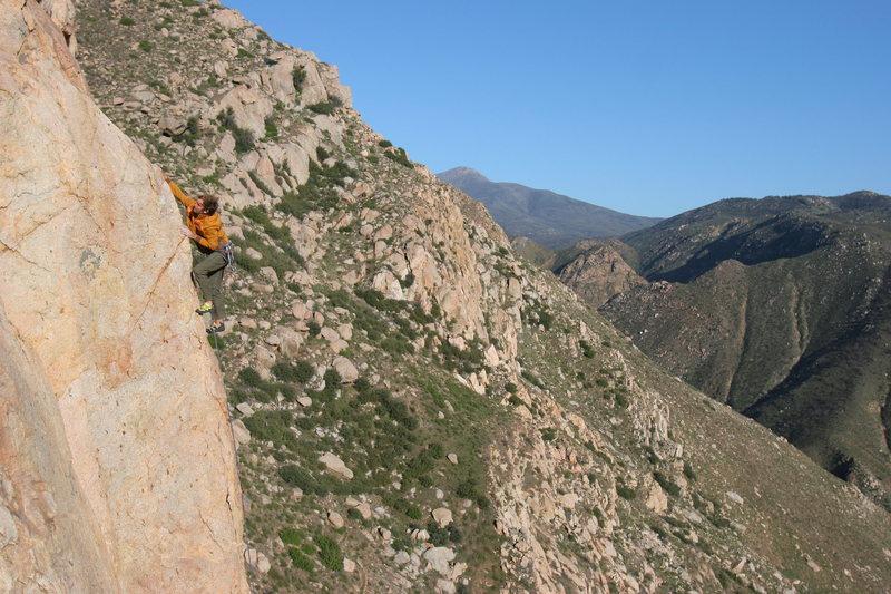 Rock Climbing Photo: Pitch 3, Crazy Horse