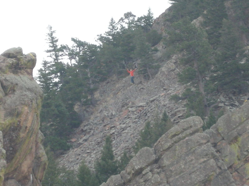 Rock Climbing Photo: Perhaps the best thing to do with the Petite Basti...