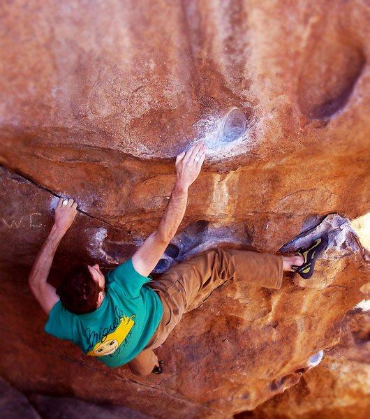 Rock Climbing Photo: Tbone shuffle