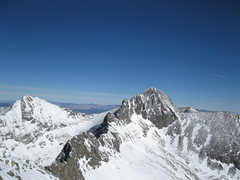 Rock Climbing Photo: Traverse as seen from the Little Bear summit on 1/...
