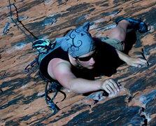 Rock Climbing Photo: Morgan on Brief Encounter