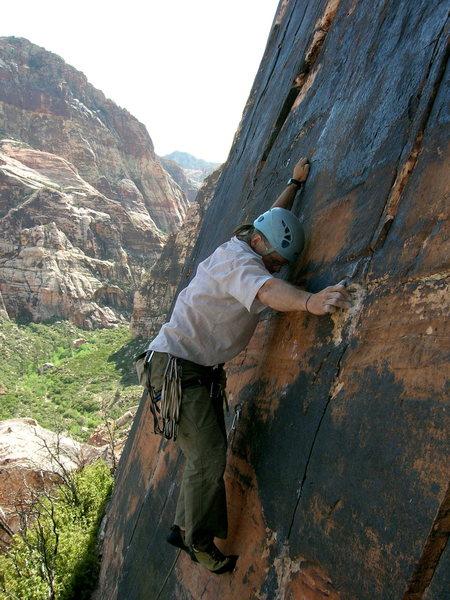 Rock Climbing Photo: Sidewinder