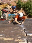 Rock Climbing Photo: Giggles and grins on Straight Shooter