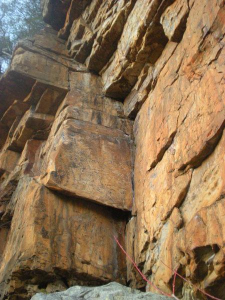 Rock Climbing Photo: Art