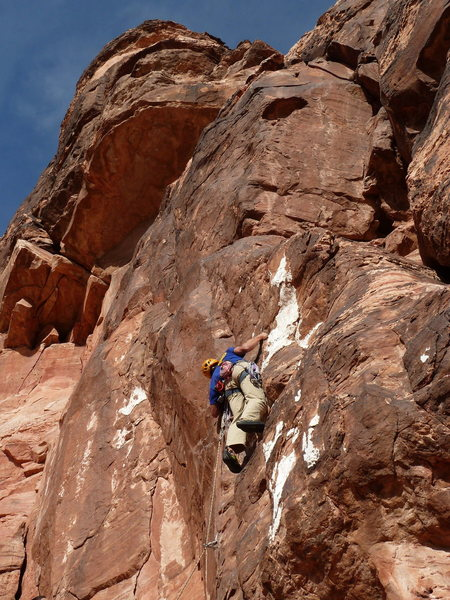 Rock Climbing Photo: Joseph Smith fishing in Brassies.
