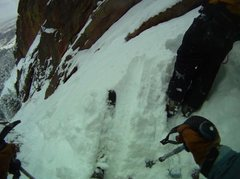 Rock Climbing Photo: 3rd Flatiron Boulder, CO ski