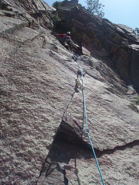 Rock Climbing Photo: Beyond the difficulties.