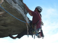 Rock Climbing Photo: right heel and your out