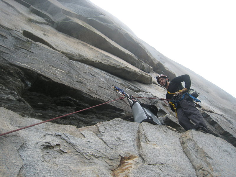 Rock Climbing Photo: anchor on p1 nice new bolts