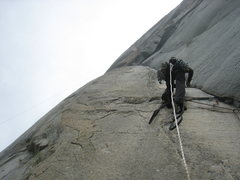 Rock Climbing Photo: p3 got strange for us we stayed right for too long...