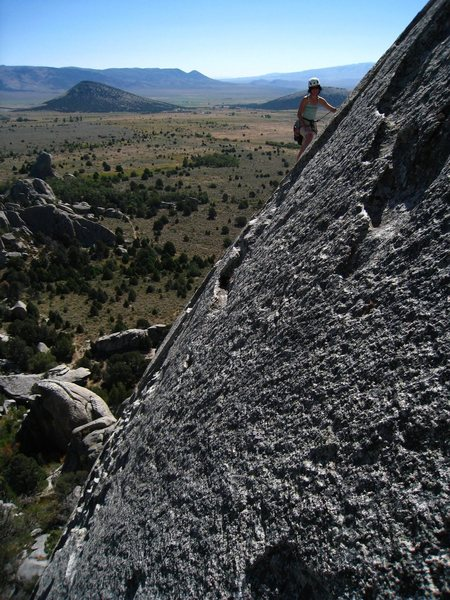 On Continental Crust. Great views. September 2008.