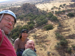Rock Climbing Photo: Looking down on the camp area from the top of Isle...