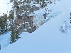 Rock Climbing Photo: Looking toward Mixed Feelings and Mo'Flo from belo...