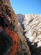 Rock Climbing Photo: view from belay at p7