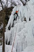 Rock Climbing Photo: Nate Erickson on Quarry Monster. Jan 29 '11