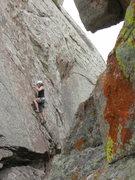 Rock Climbing Photo: A little fun on Blind Pig