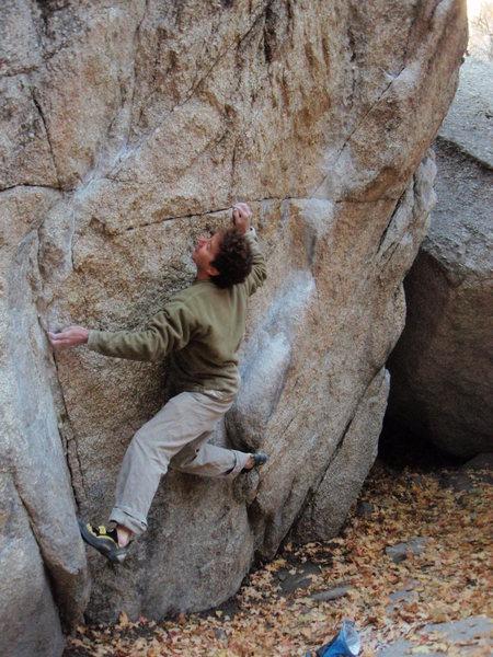 The Ramp V2 Gate Boulders<br> <br> October 25, 2009<br>