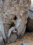 Rock Climbing Photo: The Ramp V2 Gate Boulders  October 25, 2009