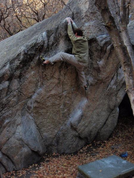 E.B.P. V3 top Gate Boulders<br> <br> October 25, 2009