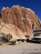 Rock Climbing Photo: Dark Shadows Rock