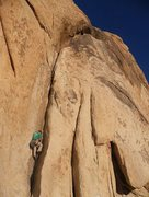 Rock Climbing Photo: First 20 feet of Dog leg