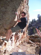 Rock Climbing Photo: Fair weather fun