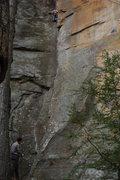 Rock Climbing Photo: Autumn Route, epic climb! good pro.
