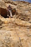Rock Climbing Photo: Kevin flashing Cyclops