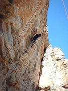 Rock Climbing Photo: Andrew Kornylak on Milanoma.  Rope is on Blood Mer...