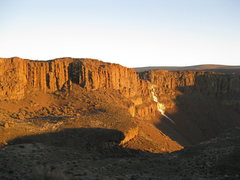 Rock Climbing Photo: Great light